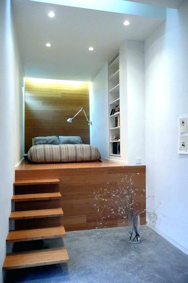 Best Platform Bed With Steps Stairs Raised Bedroom Industrial 400 x 300