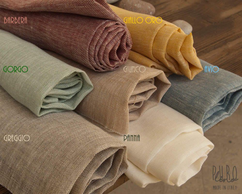 3ee13c9977 Tessuto Canapone di Puro Lino Canapone per Tende | Marini&Gerardi ...