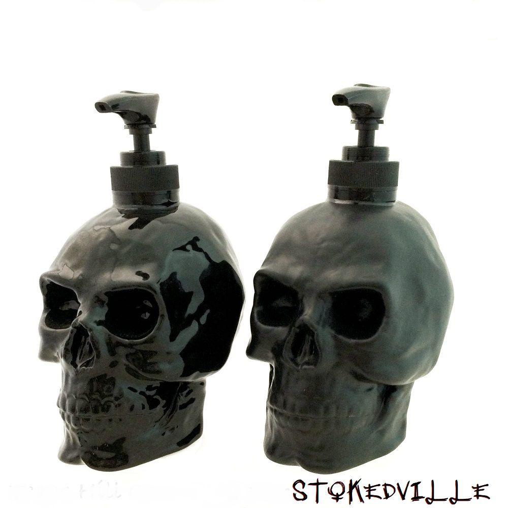 Skullhead Hand Soap Dead Decor Kitchen Vanity Soap Dispenser Soap