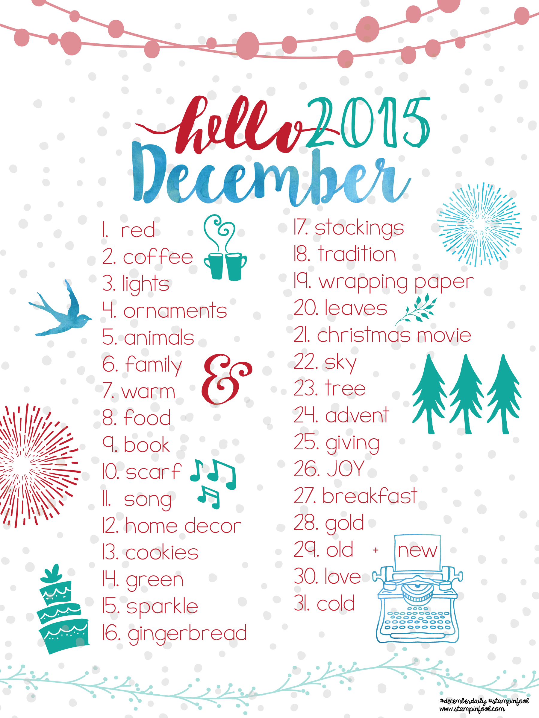 Hello December & Project Life: Documenting December Daily Guide