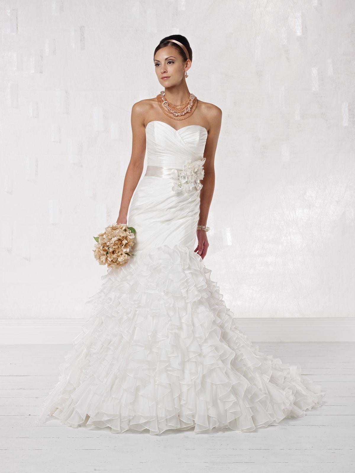 Kathy ireland for mon cheri wedding dresses style no for