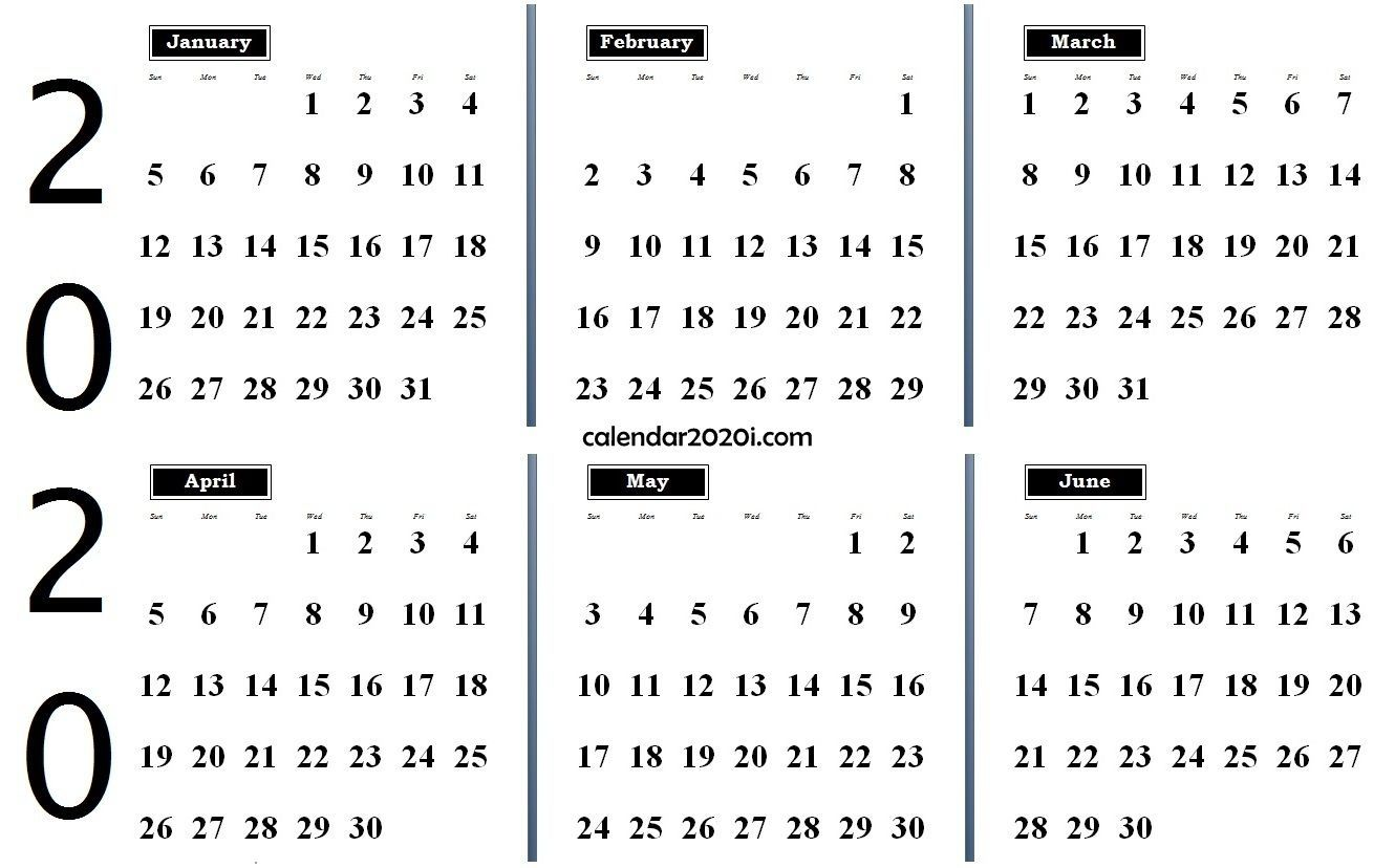 Exceptional Blank Calendar 2020 Four Months To Page Printable Calendar Word Monthly Calendar Printable Calendar Template