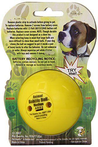 Pet Qwerks Medium Animal Babble Ball Pet Supplies Near Me Animal Sounds Pet Supplies Pets