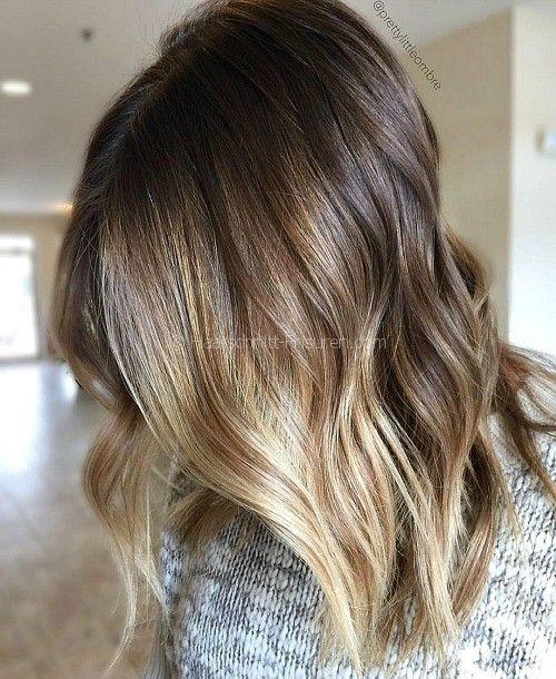 14 faceframing brown blonde balayage favoritos pinterest haarschnitte haar und frisur - Balayage braun blond ...