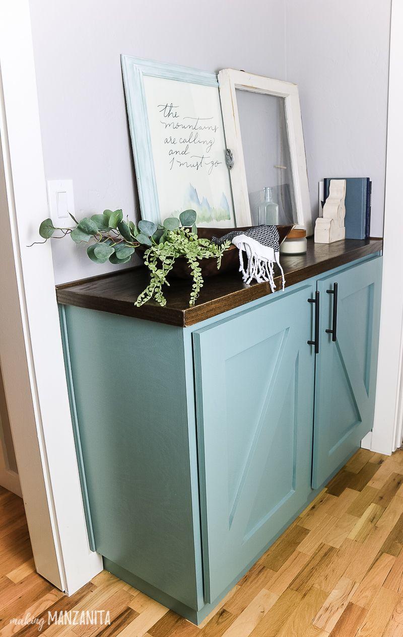 Photo of DIY Hallway Cabinet Tutorial (NO complicated joinery) – Making Manzanita
