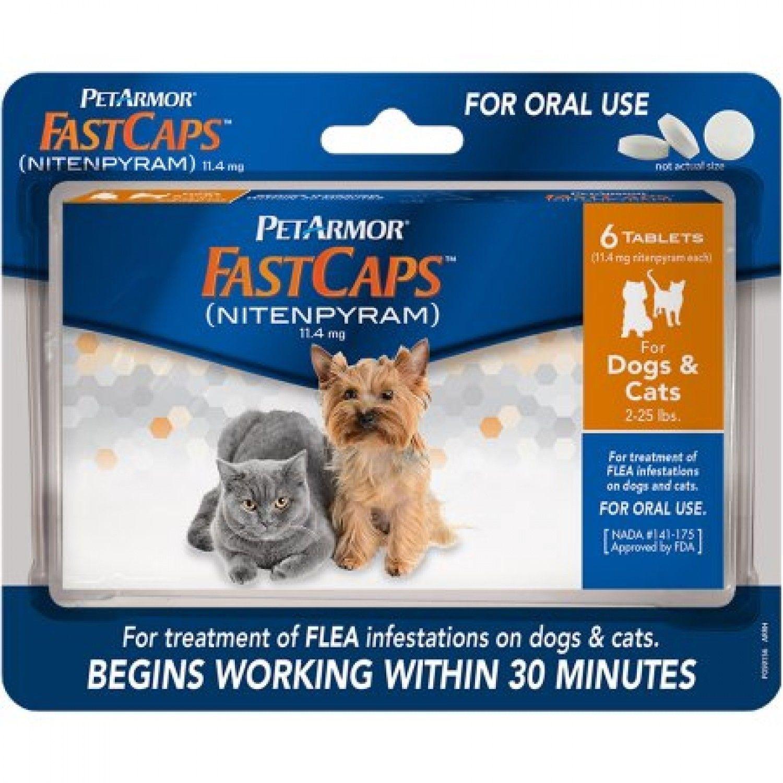 Dog Supplies 20742 New Petarmor Fast Caps Oral Flea Medicine Dogs Cats 2 25 Lbs Pet Armor 103a Buy It Cat Fleas Dog Flea Treatment Flea Medicine For Cats