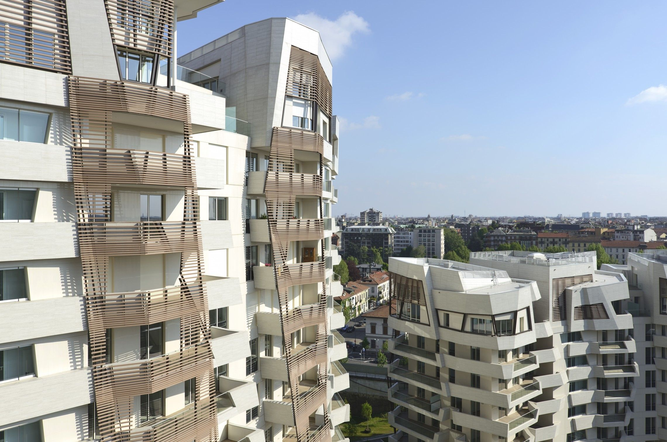 Citylife Residences  Daniel Libeskind - Arch Modern Buildings -