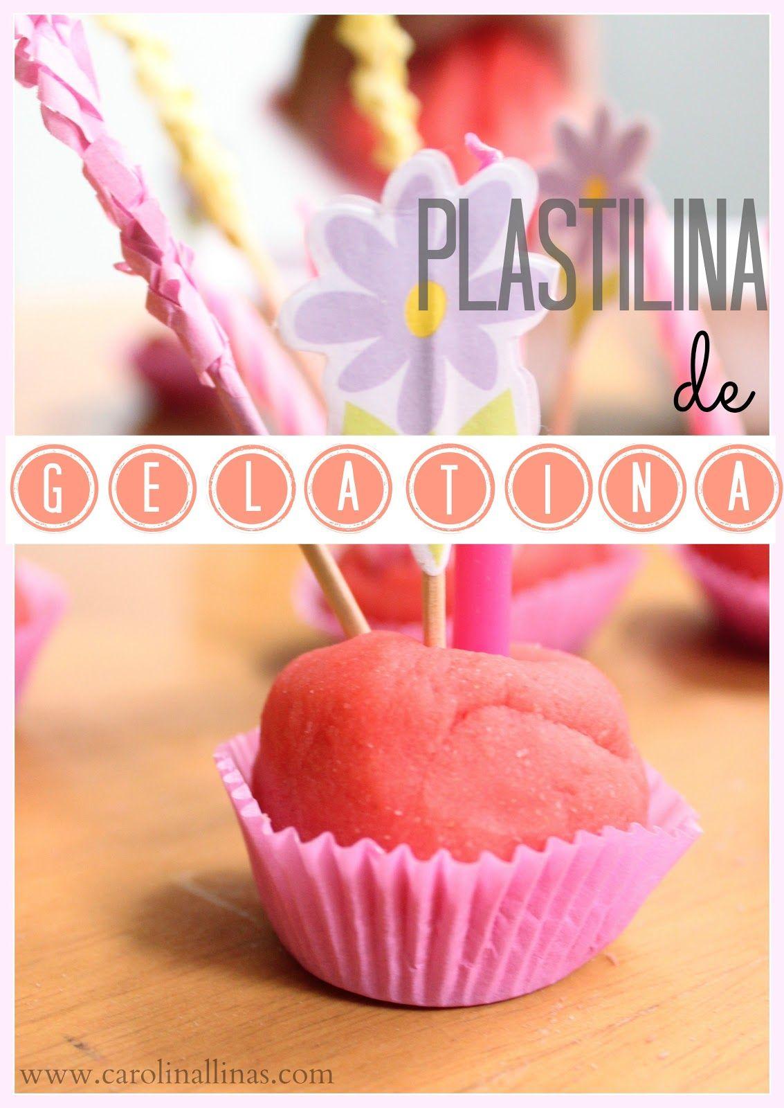 Receta para plastilina de gelatina