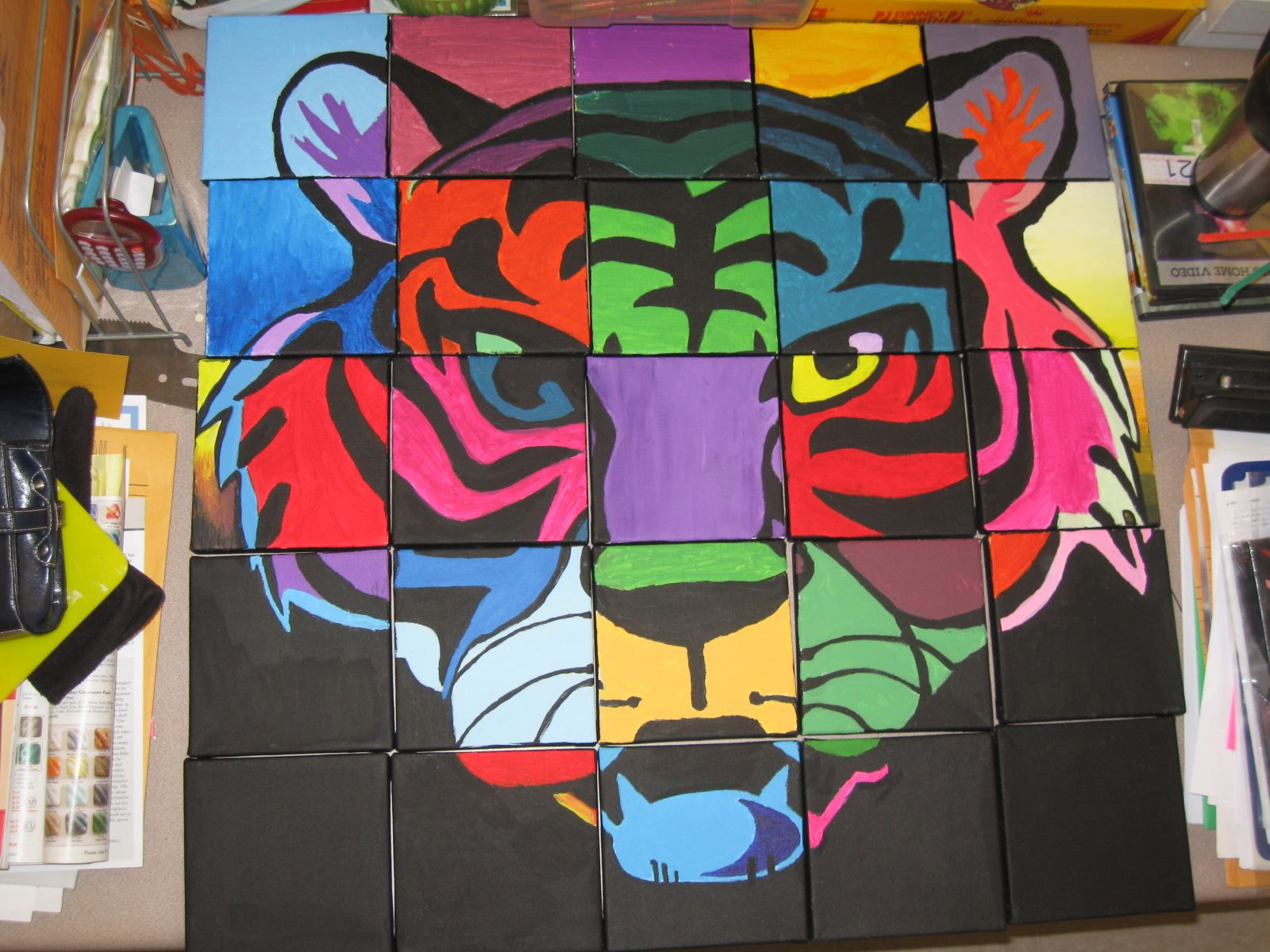 Art Mural Ideas for Middle School