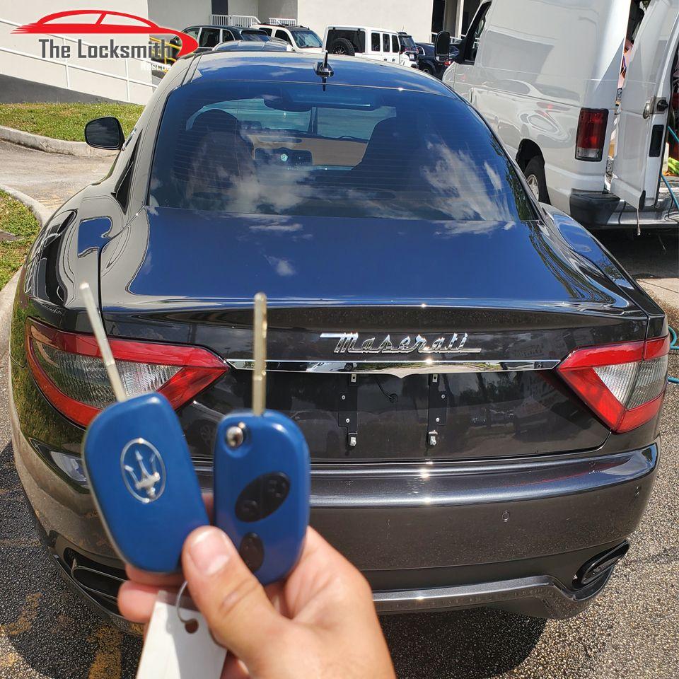 Maserati Key In 2020 Automotive Locksmith Maserati Opening Car