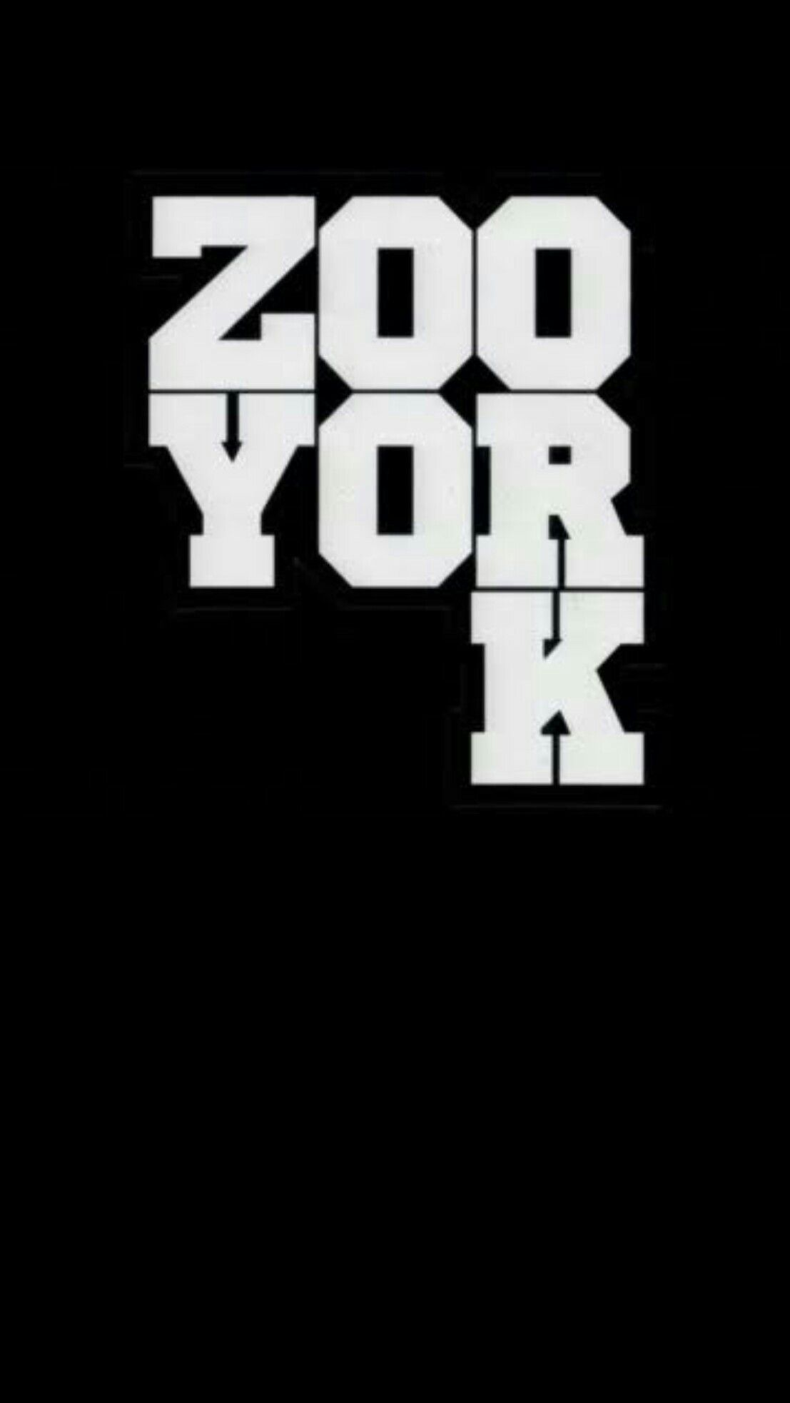 zoo york black wallpaper android iphone