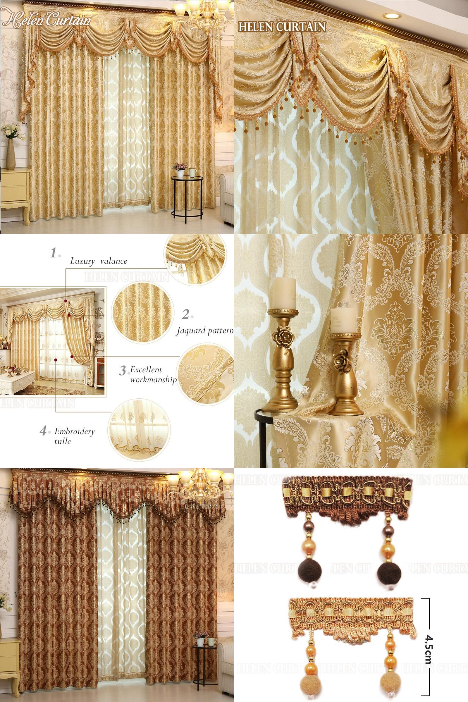 Visit To Buy Helen Curtain Luxury Europe Style Curtains