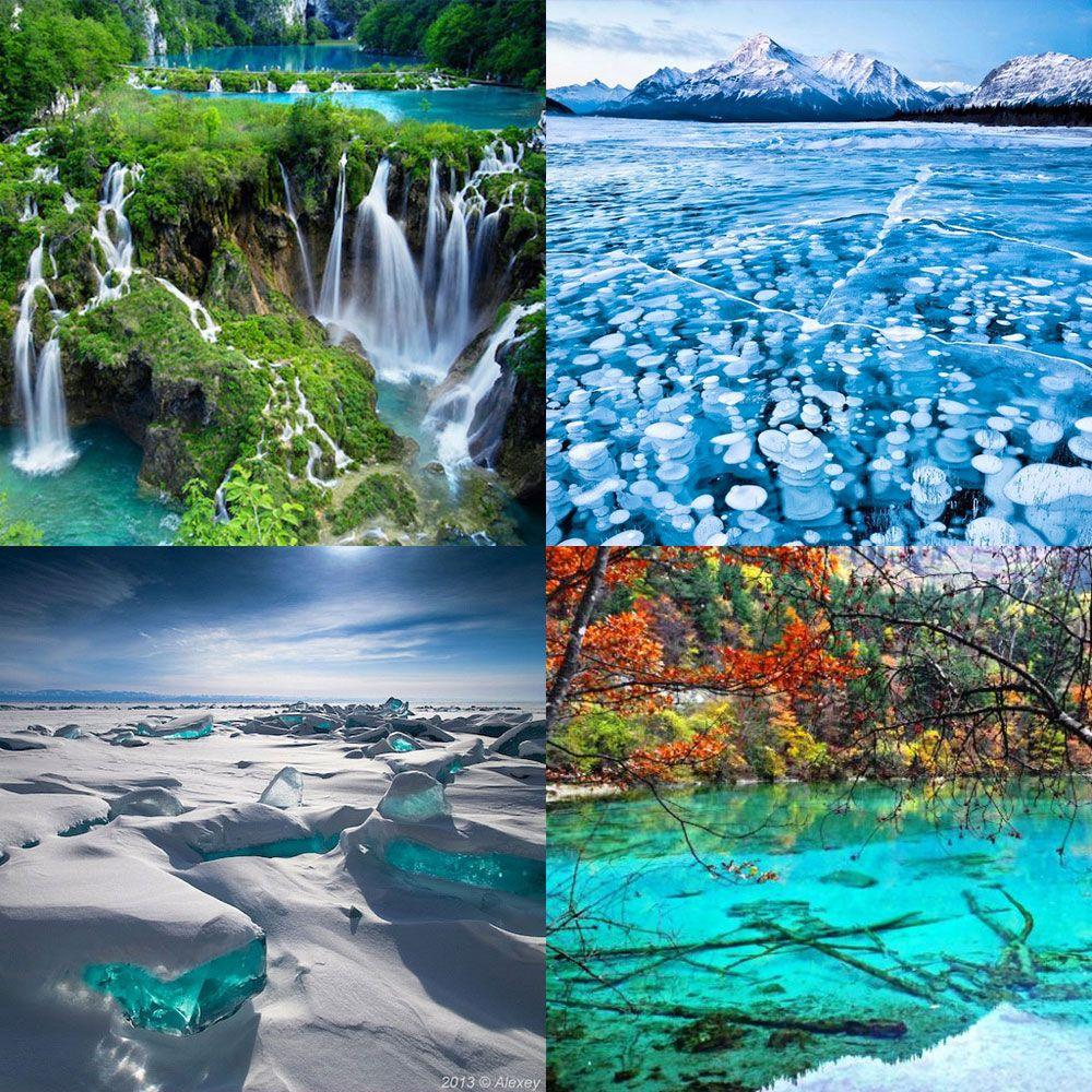 8個世界上最美的自然水景地點