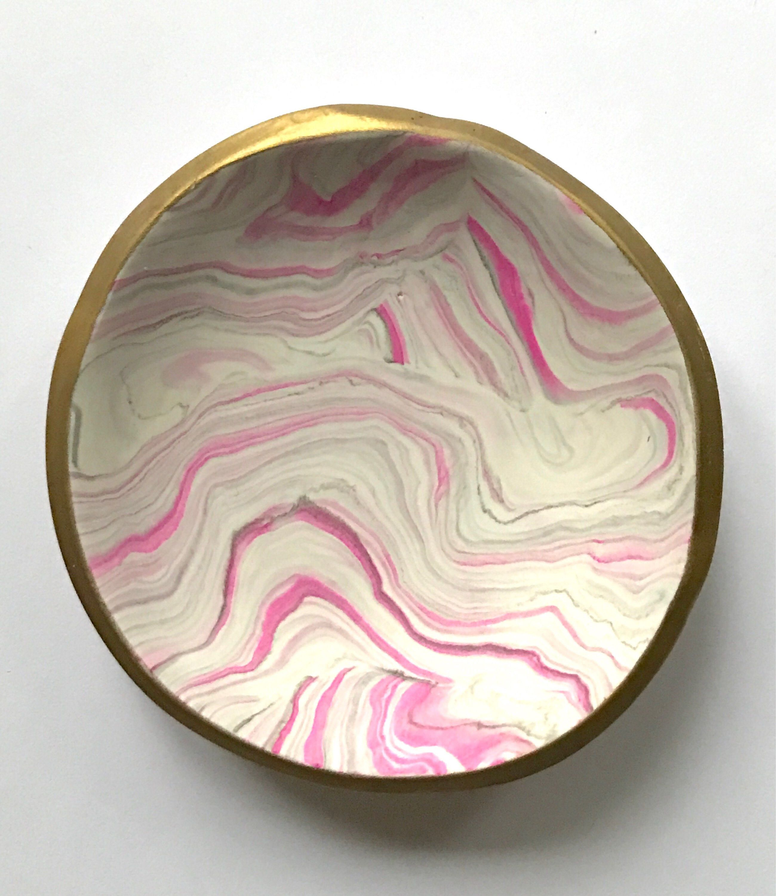 Gift under 20 Marbled Clay not Ceramic Dish Trinket Dish Gift for Her Jewelry Dish Bridesmaid gift Ring Dish Jewelry Storage