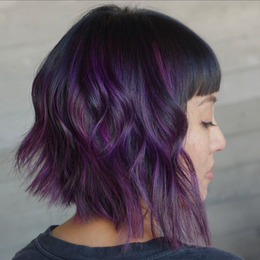 30 Best Purple Hair Ideas For 2020 Worth Trying Right Now Hair Adviser In 2020 Purple Hair Purple Hair Highlights Purple Blonde Hair