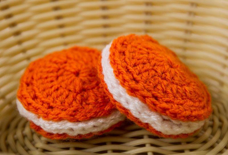 Crochet Pattern Cookies, Crochet Food P024 von Pointelle Shop auf DaWanda.com