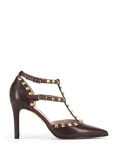 Zapato RALLY Burdeos tachuelas LODI
