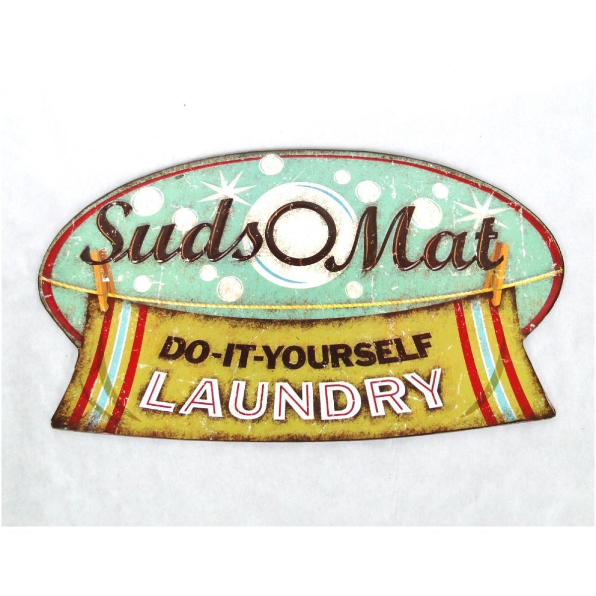 Old Laundromat Signs Glamorous Tin Suds Laundromat Retro Wall Sign Vintage Replica  Laundry 2018