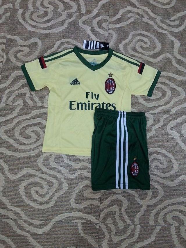 AC Milan Away Football Shirts 14/15 - Kids Football Shirts ...
