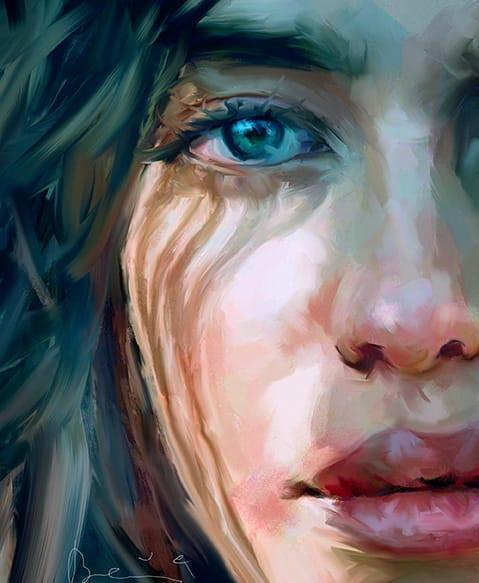 eye study, Ivana Besevic