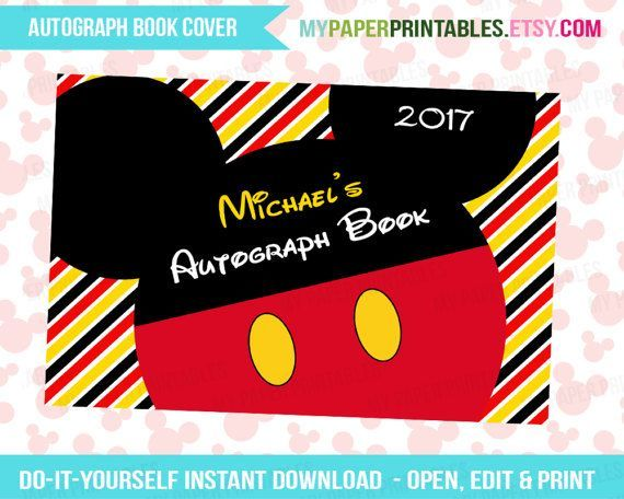 Printables | Disney Printables | Autograph Books | Tickets To Disney | Iron On Transfers | Digital Download | Autograph Pages | Instant Download | Walt Disney World | Disney World | Disney Land | Disney T Shirts | Disney Clip Art | Disney Vacation | Mickey Mouse | Disney Princess | Disney Ticket | Walt Disney World | Disney Cruise