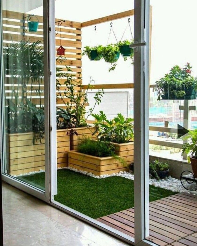 Orange roofing, residing roofs, vegetated roof covering, ecoroofs — all that you want to ask these guys. #Rooftopgarden #apartmentbalconydecorating