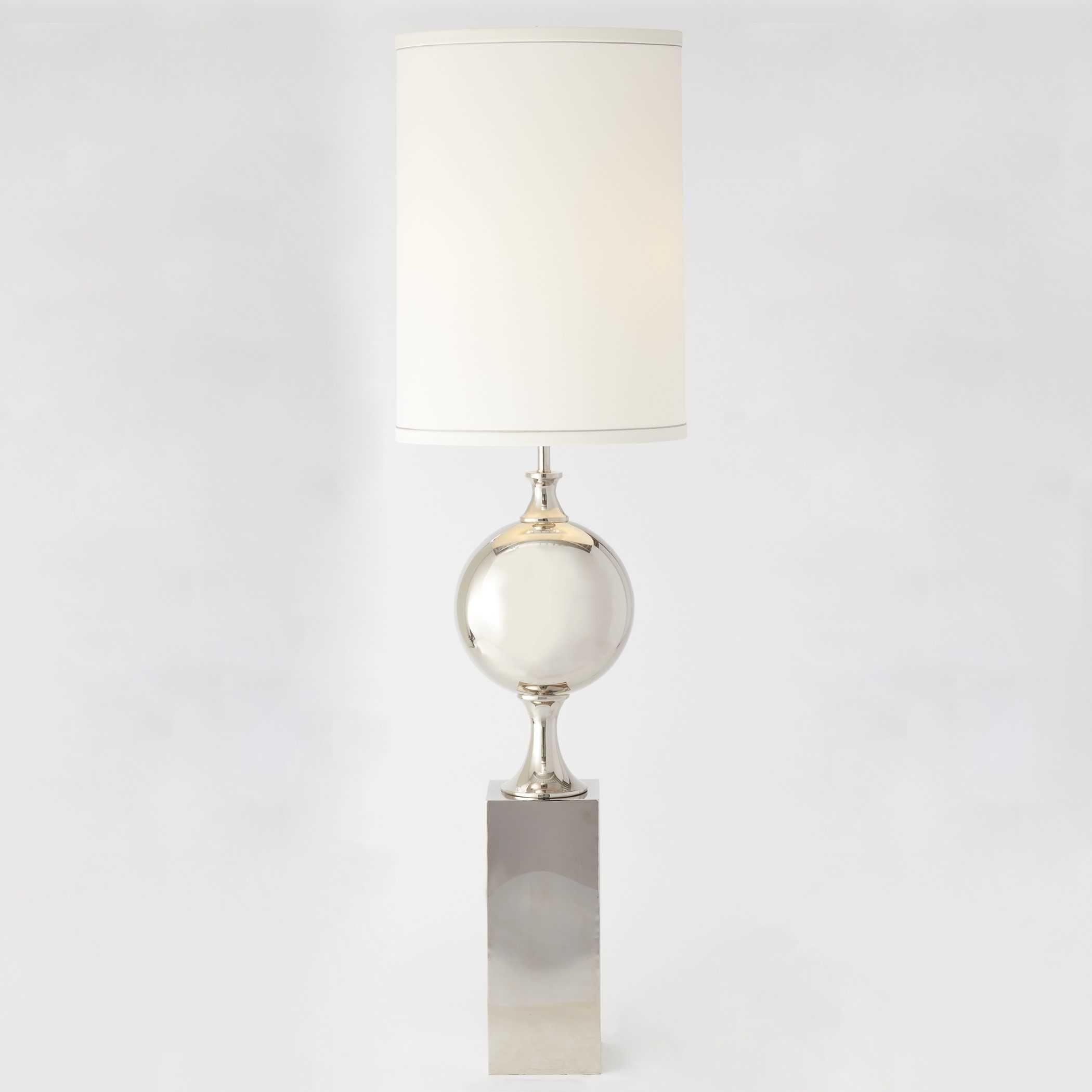 Global Views Big Pill Nickel Two Light Floor Lamp Gv991101 Glasslamps Lamp Modern Floor Lamps Floor Lamp
