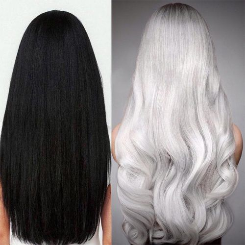 90 Platinum Blonde Hair Shades And Highlights For 2020