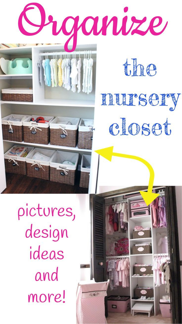 Baby Closet Organizing Tips! Nursery Closet Organization Ideas For Boy Baby  Closets And Girl Babies