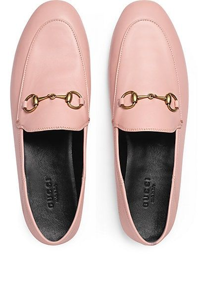 3b1486a73a7 Gucci Brixton Leather Loafers - Flats - 505168348