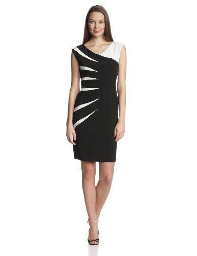Julian Taylor Women's One Shoulder Sunburst Dress, Black/White, 6 Julian Taylor,http://www.amazon.com/dp/B00G57NPKY/ref=cm_sw_r_pi_dp_57Eitb1246E2645Y