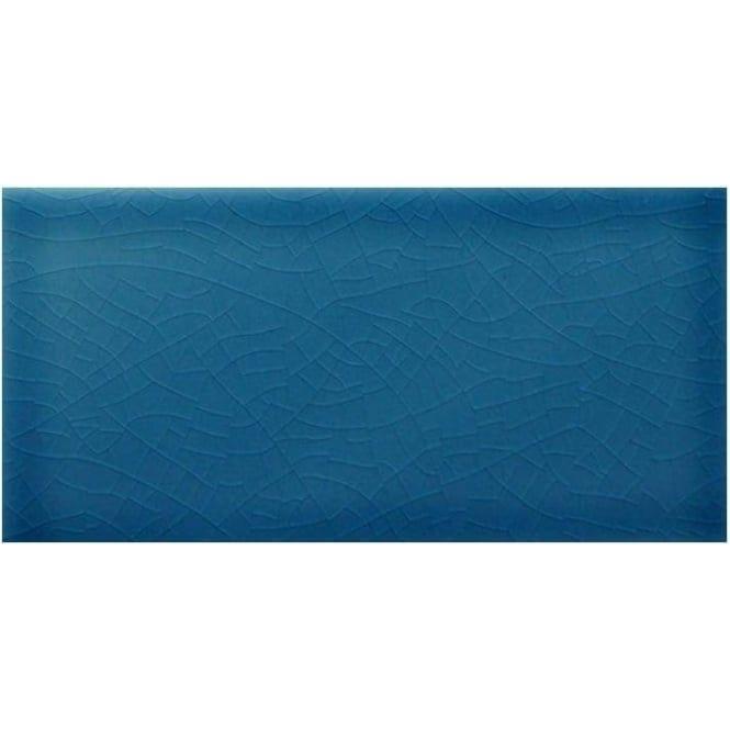 Crackle Glaze Chelsea Blue 7 5cm X 15cm Wall Tile Crackle Tile Bathroom Chelsea Blue Wall Tiles