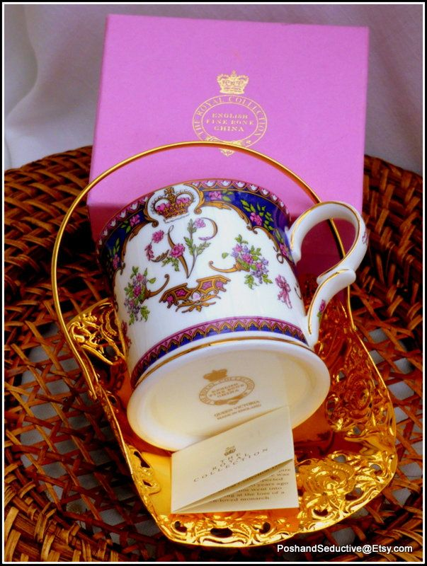 Highly desirable collectible Queen Victoria cup limited