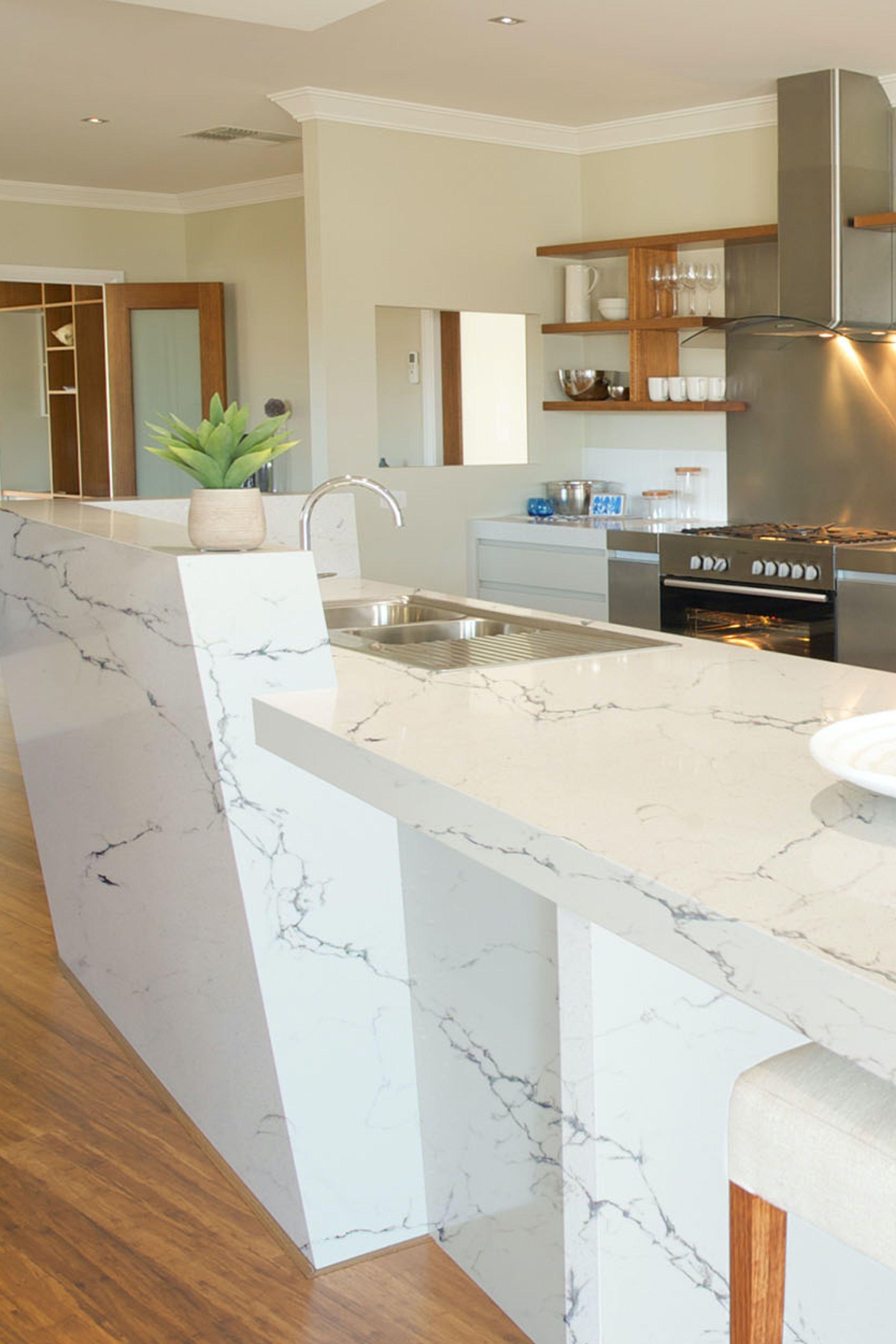 Bianco Napoli Pompeii Quartz Countertops Cost Reviews Kitchen Island Countertop Quartz Kitchen Countertops Quartz Countertops