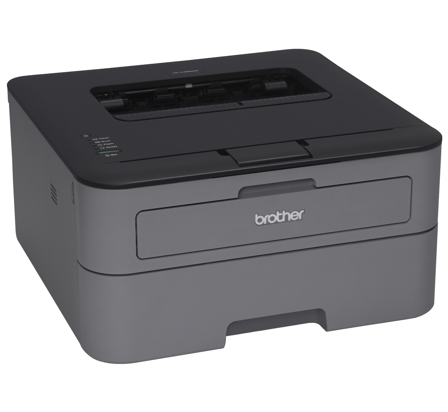 A Laser Printer For 50 Brother Hl L2300d Monochrome Laser Printer Many Genealogists Prefer Black White Only Printe With Images Laser Printer Brother Printers Printer