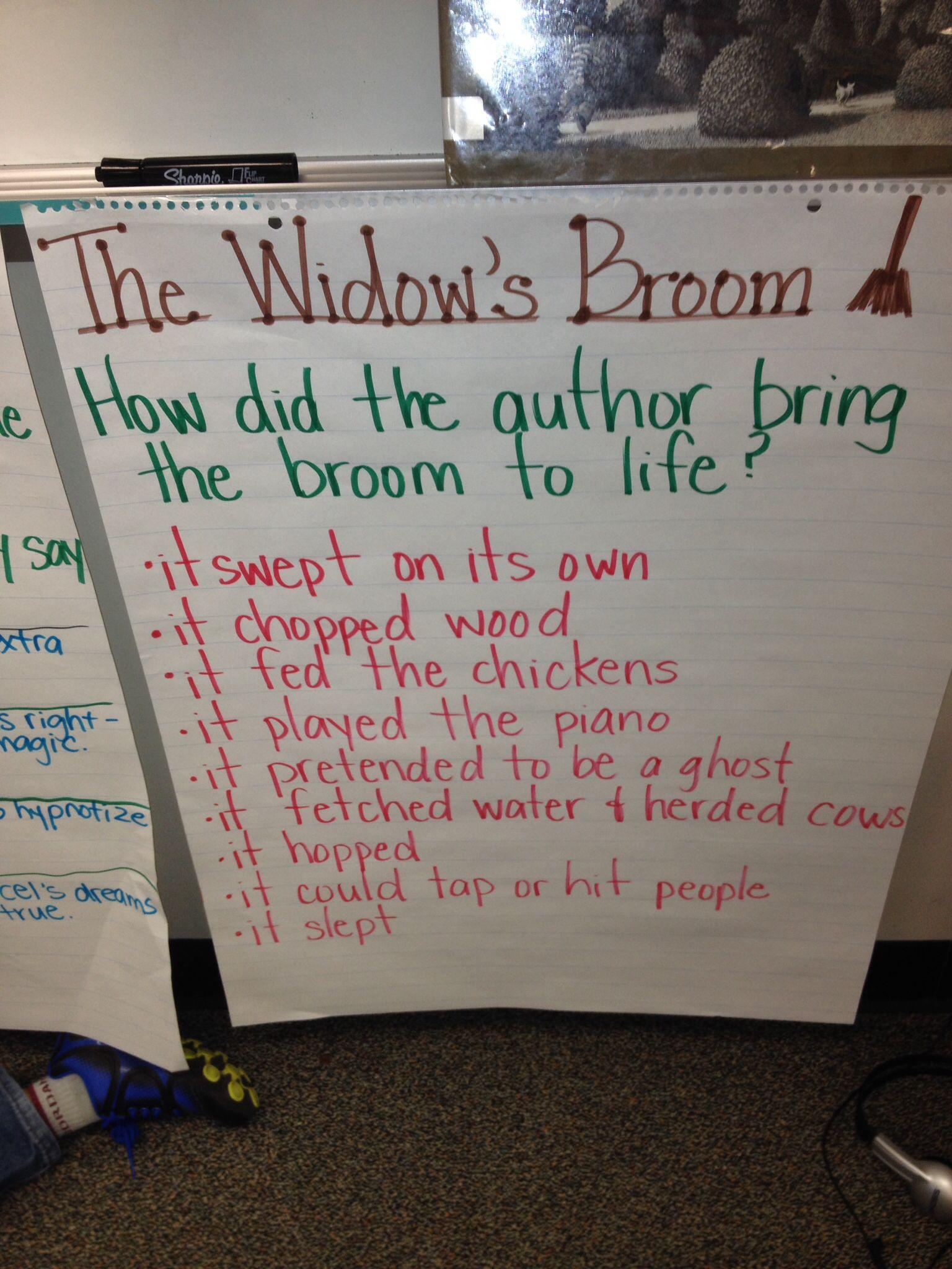 Chris Van Alsburg The Widow S Broom
