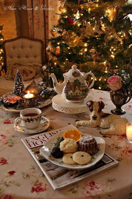 Aiken House Gardens Christmas English Afternoon Tea Christmas