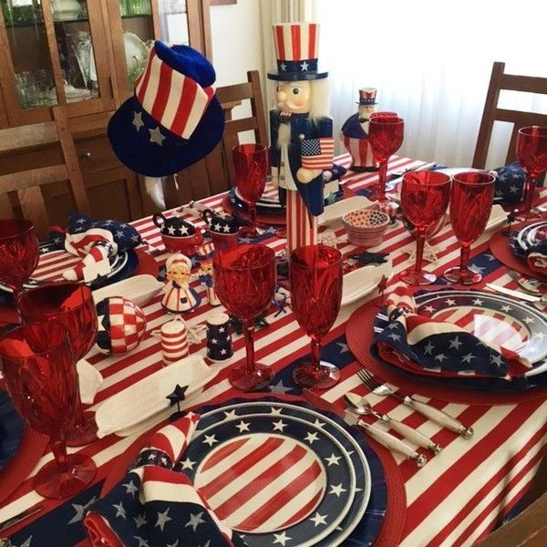 44 Newest 4Th Of July Table Decorations Ideas images