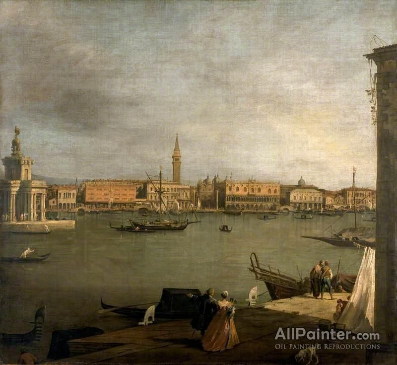 Giovanni Antonio Canal (called Canaletto),The Bacino Di San Marco: Looking North oil painting reproductions for sale