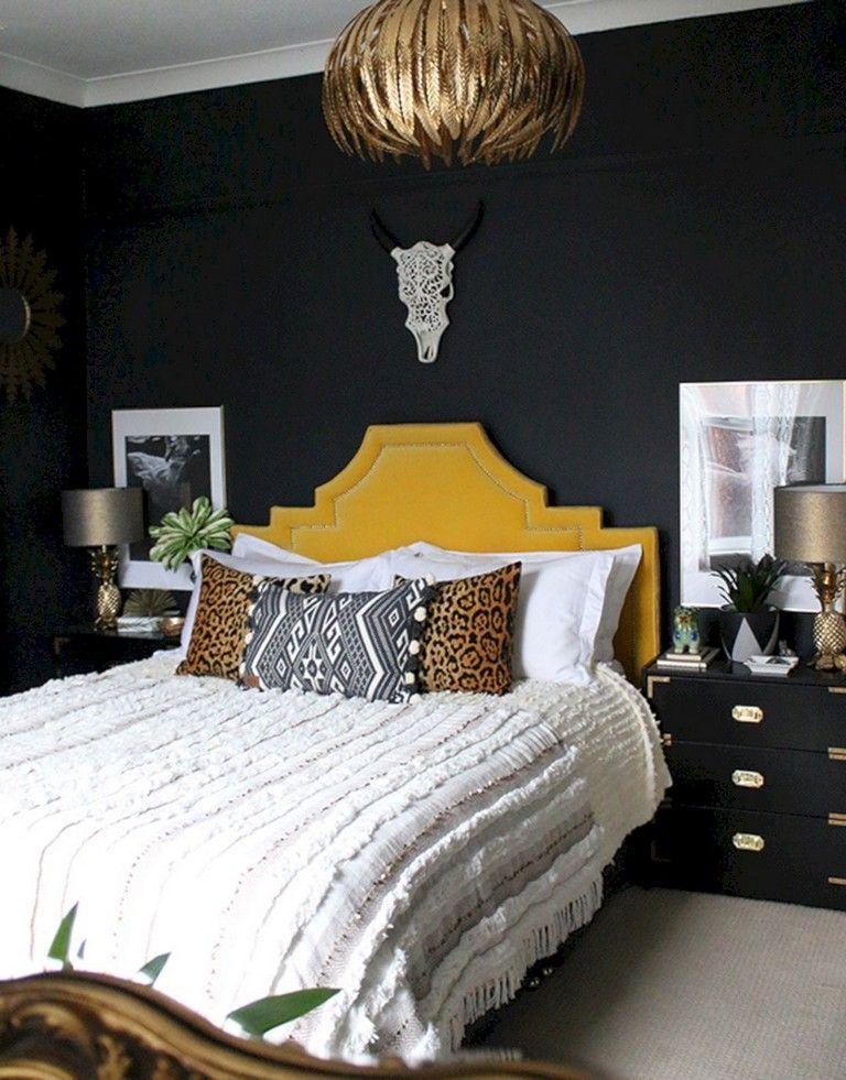 10 Astonishing Boho Glam Bedroom Design Ideas Glam Bedroom Modern Bedroom Design Luxurious Bedrooms Boho glam bedroom ideas