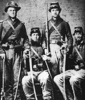 Civil War Photo Print 7th New York Cavalry near Washington 1860s DC