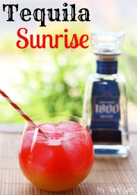 Tequila Sunrise: Cinco de Mayo Cocktail Perfection |My Thirty Spot