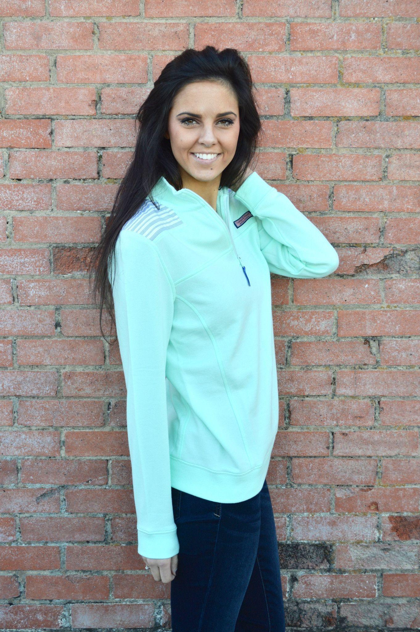 Vineyard Vines Resort Stripe Shep Shirt- Wintermint from Shop Southern Roots TX