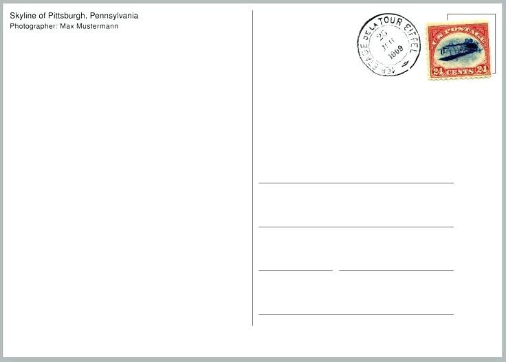 Image Result For Postcard Template
