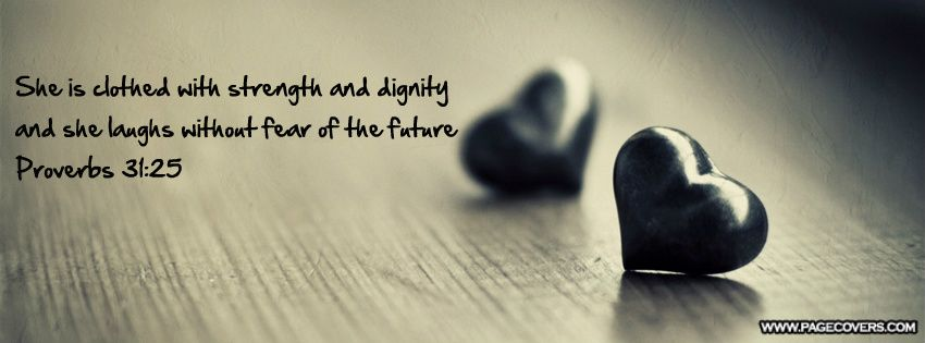 Proverbs 31 25 Facebook Cover - PageCovers.com | Recovery ...