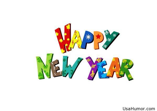 happy new year for kids clip art