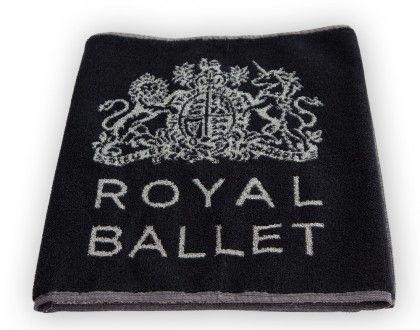 Ref: ASCP160RBBLK  Royal Ballet Towel 100% Cotton