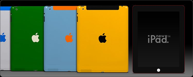 ColorWare welcomes the iPad 4 to the collection. Design your own today and let us customize it for you.
