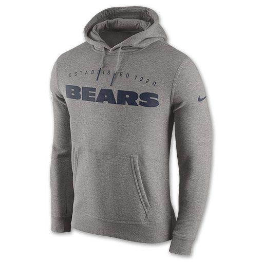Men s Nike Chicago Bears NFL Practice Club Hoodie - 693759CH HGY ... 990fe708538c