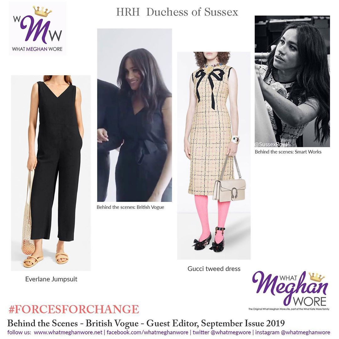 What Meghan Wore On Instagram Behind The Scenes Meghan At Work All The Details In Our Late Meghan Markle Outfits Meghan Markle Style Harry And Meghan News